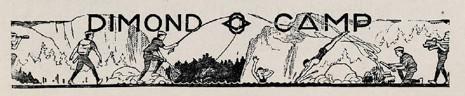 Dimond-O banner from Oakland Scribe, c 1930