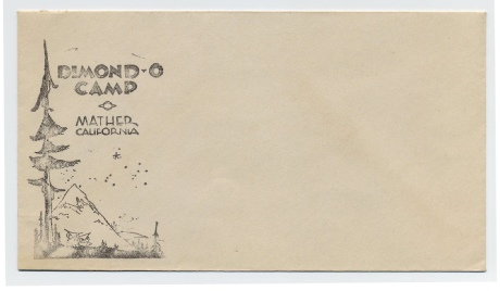 Dimond-O Envelope, c 1950