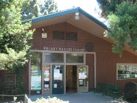 Lake Merritt Nature Center, built with funds donated by the friends of BC Cain and the Oakland Rotary Club