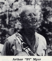 Arthur Myer, First Eagle Scout in California helped Oakland's first summer camp near Lagunitas, Photo from 1966