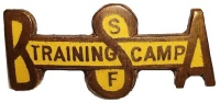 Training Camp Pin, c 1918