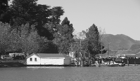 Sea Scout Base in San Francisco's Aquatic Park.  Donated to the Scouts in 1947