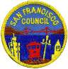 San Francisco Council patch, c 1950
