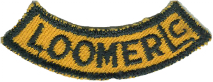 Council Patch segment for Camp Loomer, c 1960