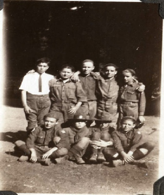 SF Scouts at Training Camp, c 1920