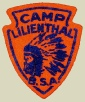 Camp Lilienthal patch (c 1955), Image courtesy of the Adam Lombard Collection